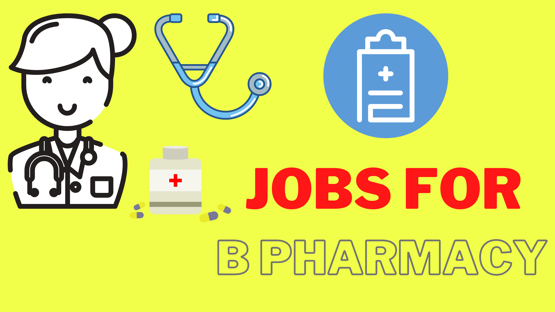Jobs for B Pharmacy