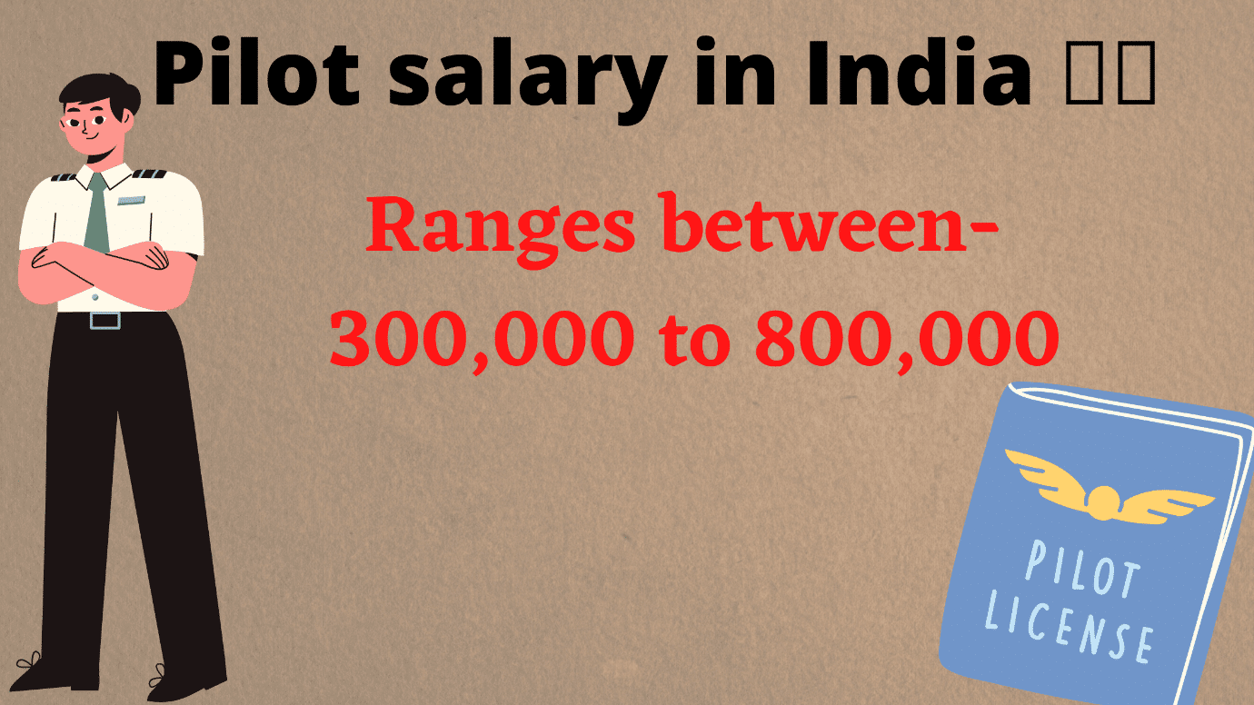Commercial Pilot Salary in India