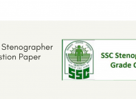 SSC Stenographer Question Paper 2019