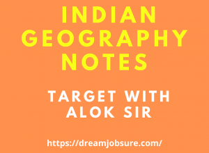 Indian Geography notes Target with Alok PDF