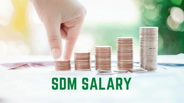 SDM Salary