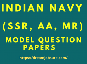 Indian Navy SSR AA MR Model question paper