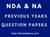NDA question paper 2021